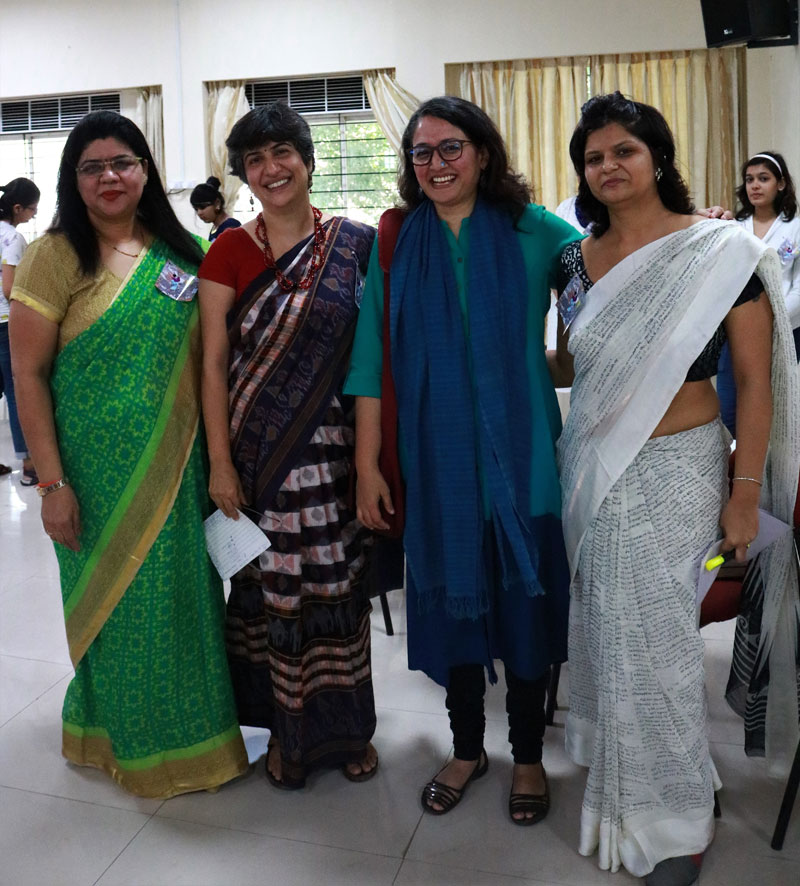 The English Department with the Chief Guest
