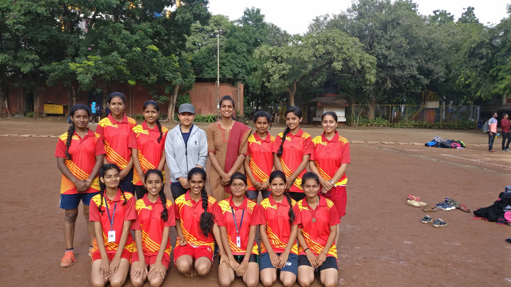 Inter Collegiate Kho-Kho Competition our team secured third place