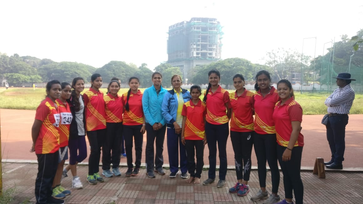 Inter Collegiate Athletics Competition our team 1