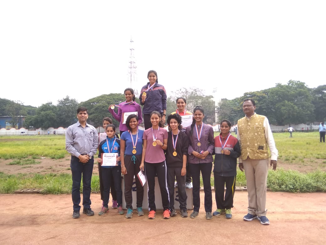 Inter Collegiate Athletics Competition our team 4