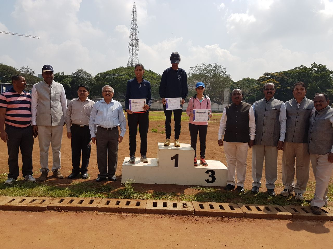 Sampada Buchade (FYBA) Silver Medal in  5000mt run at Intercollege Athletics Competition held at Pune