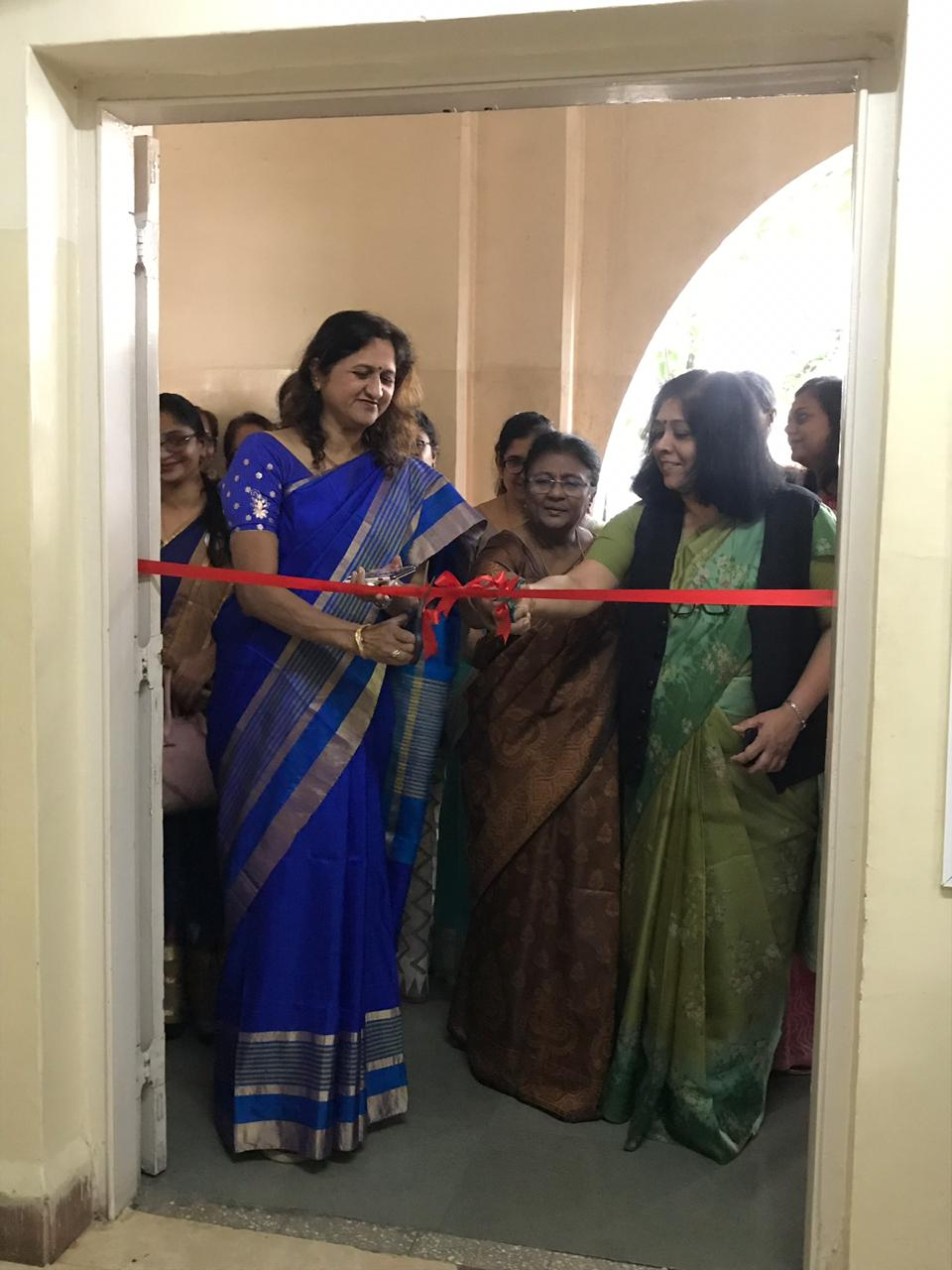 Inaugration- Incubation Centre - Dr. Palkar with Vice- Principal