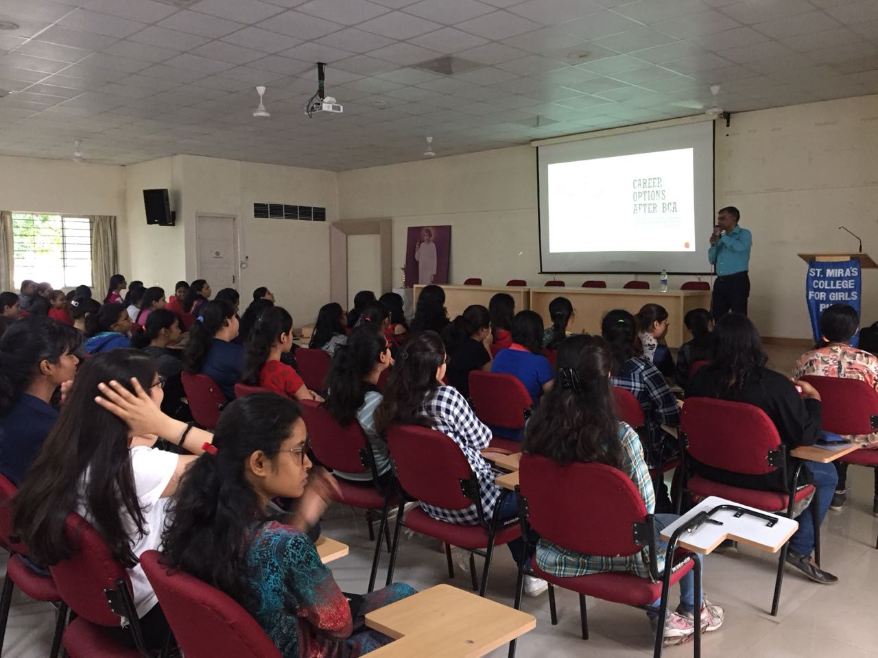 Mr. James Mathew conducting session on Mass Media