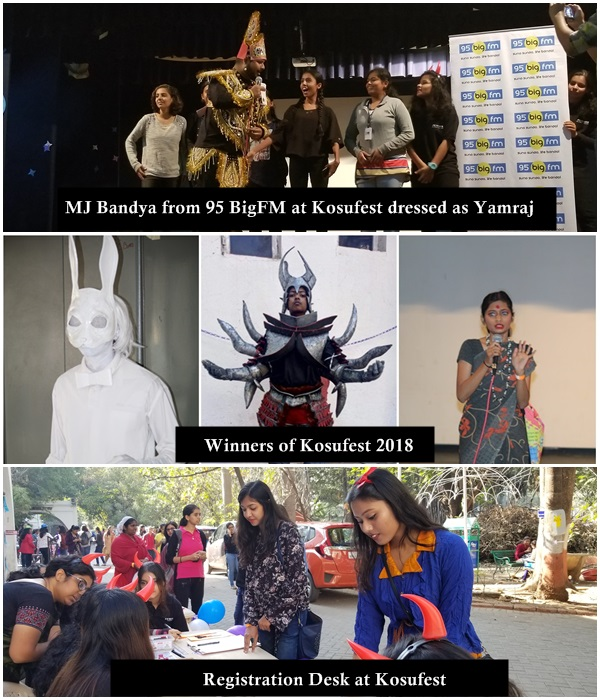Kosufest 2018 - An Intercollege Cosplay Competition II