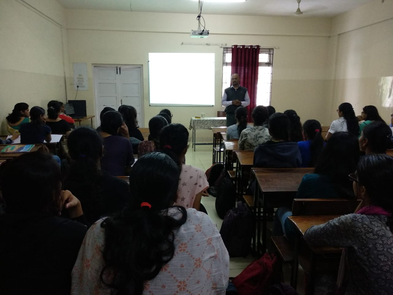 Guest lecture by Prof. M.B. Lonare
