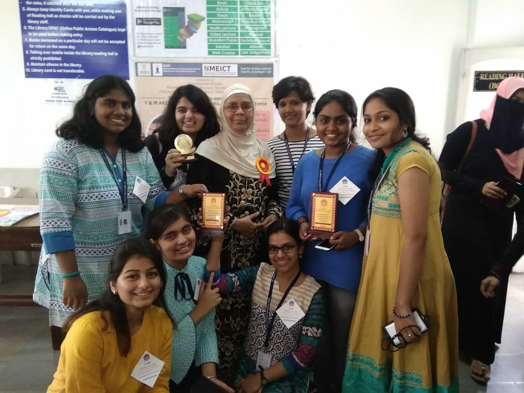 Participants with Poona College Staff-Intercollegiate Psychology Exhibition Psy Spectrum 2018-Poona College