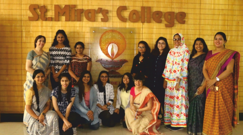 St. Mira recently associated itself with a global academic initiative called COIL