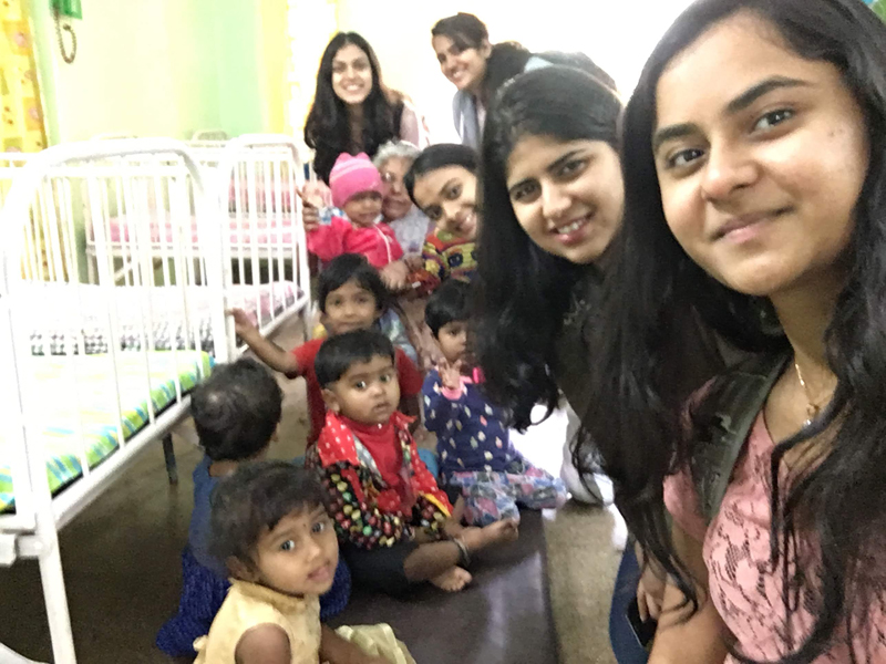 SYBBA, Social Service, 16 Jan'19, enjoying with the children.
