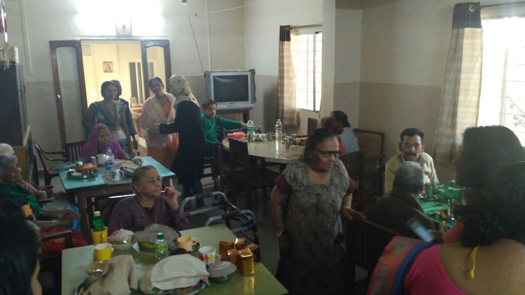 Social Service - Sandhya Home for Aged